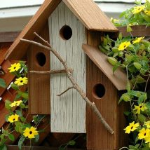 45+ Charming DIY Bird House Ideas For Your Backyard