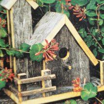 Diy Bird Houses 10 214x214 - 45+ Charming DIY Bird House Ideas For Your Backyard