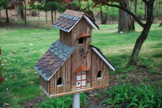 Diy Bird Houses 12 - 45+ Charming DIY Bird House Ideas For Your Backyard
