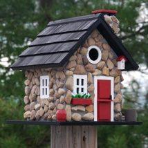 Diy Bird Houses 13 214x214 - 45+ Charming DIY Bird House Ideas For Your Backyard