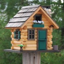 Diy Bird Houses 15 214x214 - 45+ Charming DIY Bird House Ideas For Your Backyard