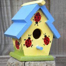 Diy Bird Houses 22 214x214 - 45+ Charming DIY Bird House Ideas For Your Backyard