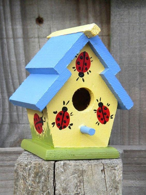 Diy Bird Houses 22 - 45+ Charming DIY Bird House Ideas For Your Backyard