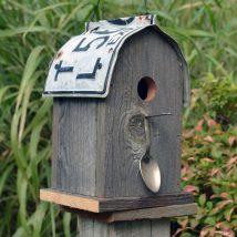 Diy Bird Houses 24 214x214 - 45+ Charming DIY Bird House Ideas For Your Backyard