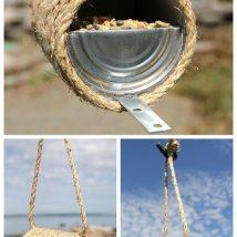 Diy Bird Houses 27 214x214 - 45+ Charming DIY Bird House Ideas For Your Backyard