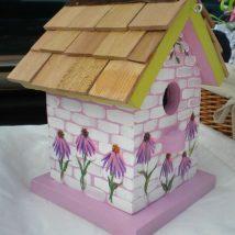 Diy Bird Houses 28 214x214 - 45+ Charming DIY Bird House Ideas For Your Backyard