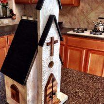 Diy Bird Houses 29 214x214 - 45+ Charming DIY Bird House Ideas For Your Backyard