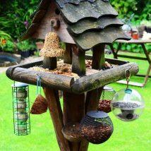 Diy Bird Houses 30 214x214 - 45+ Charming DIY Bird House Ideas For Your Backyard