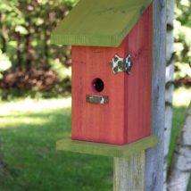 Diy Bird Houses 31 214x214 - 45+ Charming DIY Bird House Ideas For Your Backyard