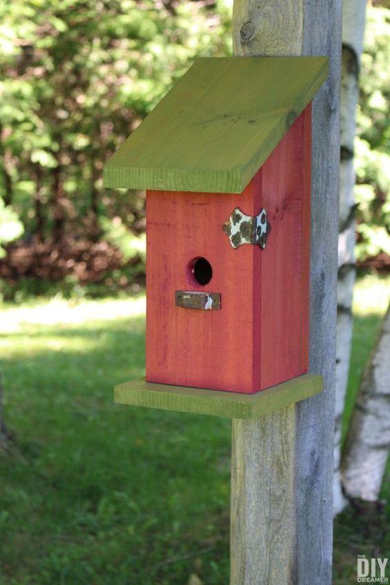Diy Bird Houses 31 - 45+ Charming DIY Bird House Ideas For Your Backyard