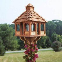 Diy Bird Houses 36 214x214 - 45+ Charming DIY Bird House Ideas For Your Backyard