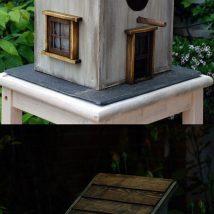 Diy Bird Houses 39 214x214 - 45+ Charming DIY Bird House Ideas For Your Backyard