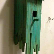 Diy Bird Houses 42 214x214 - 45+ Charming DIY Bird House Ideas For Your Backyard