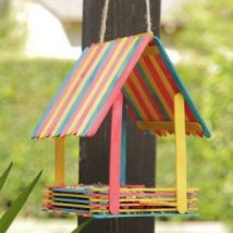 Diy Bird Houses 44 214x214 - 45+ Charming DIY Bird House Ideas For Your Backyard