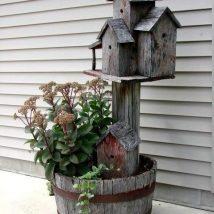 Diy Bird Houses 48 214x214 - 45+ Charming DIY Bird House Ideas For Your Backyard