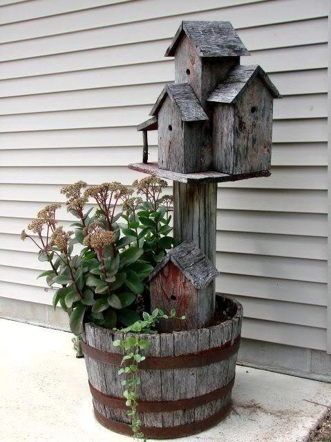 Diy Bird Houses 48 - 45+ Charming DIY Bird House Ideas For Your Backyard