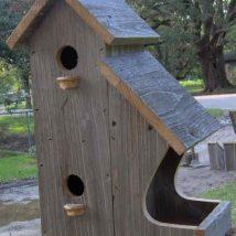 Diy Bird Houses 5 214x214 - 45+ Charming DIY Bird House Ideas For Your Backyard