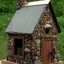 Diy Bird Houses 7 214x214 - 45+ Charming DIY Bird House Ideas For Your Backyard