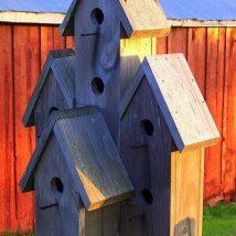 Diy Bird Houses 8 214x214 - 45+ Charming DIY Bird House Ideas For Your Backyard
