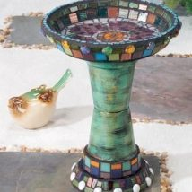 Diy Birdbath Projects 1 214x214 - 40+ DIY Bird bath Projects Ideas