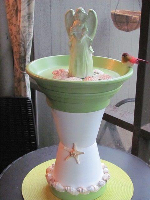 Diy Birdbath Projects 11 - 40+ DIY Bird Bath Projects Ideas