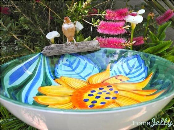 Diy Birdbath Projects 12 - 40+ DIY Bird Bath Projects Ideas