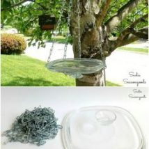 Diy Birdbath Projects 14 214x214 - 40+ DIY Bird bath Projects Ideas