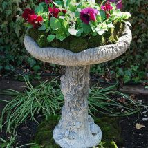 Diy Birdbath Projects 16 214x214 - 40+ DIY Bird bath Projects Ideas