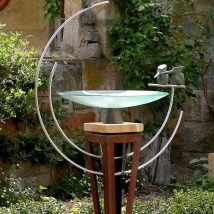 Diy Birdbath Projects 23 214x214 - 40+ DIY Bird bath Projects Ideas