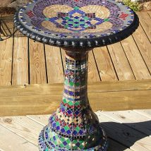Diy Birdbath Projects 24 214x214 - 40+ DIY Bird bath Projects Ideas