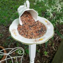 Diy Birdbath Projects 3 214x214 - 40+ DIY Bird bath Projects Ideas