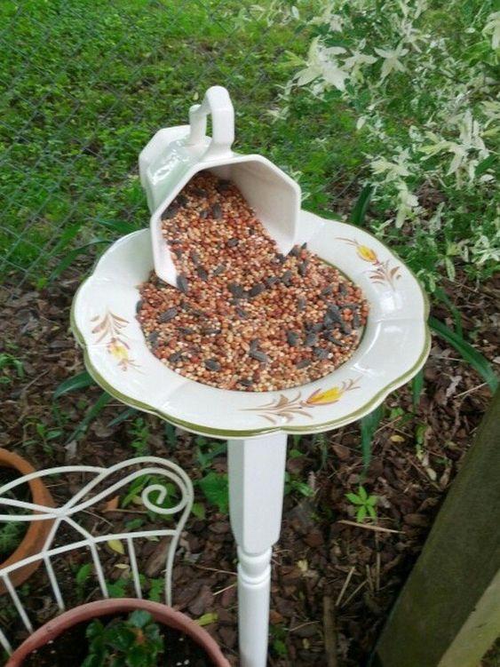 Diy Birdbath Projects 3 - 40+ DIY Bird Bath Projects Ideas