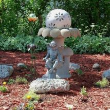 Diy Birdbath Projects 31 214x214 - 40+ DIY Bird bath Projects Ideas
