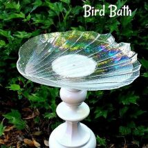 Diy Birdbath Projects 35 214x214 - 40+ DIY Bird bath Projects Ideas