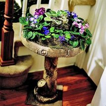 Diy Birdbath Projects 40 214x214 - 40+ DIY Bird bath Projects Ideas