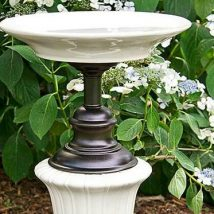 Diy Birdbath Projects 41 214x214 - 40+ DIY Bird bath Projects Ideas