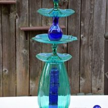 Diy Birdbath Projects 42 214x214 - 40+ DIY Bird bath Projects Ideas