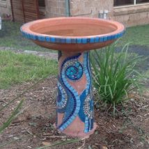 Diy Birdbath Projects 44 214x214 - 40+ DIY Bird bath Projects Ideas