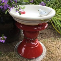 Diy Birdbath Projects 7 214x214 - 40+ DIY Bird bath Projects Ideas