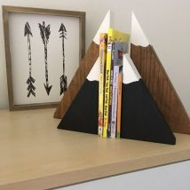 Diy Bookend Ideas 16 214x214 - 35+ Cool DIY Bookend Ideas