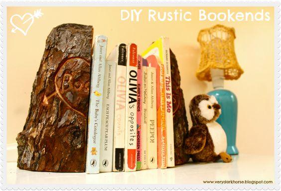 Diy Bookend Ideas 19 - 35+ Cool DIY Bookend Ideas