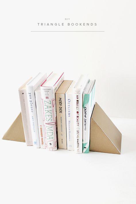 Diy Bookend Ideas 20 - 35+ Cool DIY Bookend Ideas