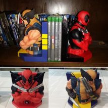 Diy Bookend Ideas 22 214x214 - 35+ Cool DIY Bookend Ideas