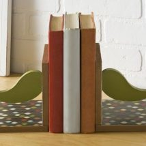 Diy Bookend Ideas 23 214x214 - 35+ Cool DIY Bookend Ideas