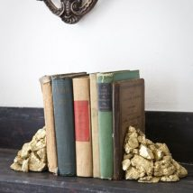 Diy Bookend Ideas 24 214x214 - 35+ Cool DIY Bookend Ideas