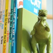 Diy Bookend Ideas 28 214x214 - 35+ Cool DIY Bookend Ideas