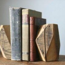 Diy Bookend Ideas 30 214x214 - 35+ Cool DIY Bookend Ideas