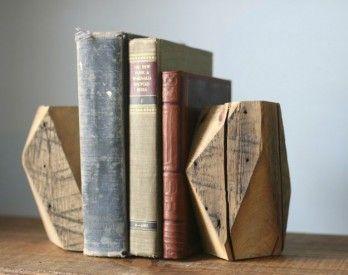 Diy Bookend Ideas 30 - 35+ Cool DIY Bookend Ideas