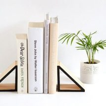 Diy Bookend Ideas 31 214x214 - 35+ Cool DIY Bookend Ideas