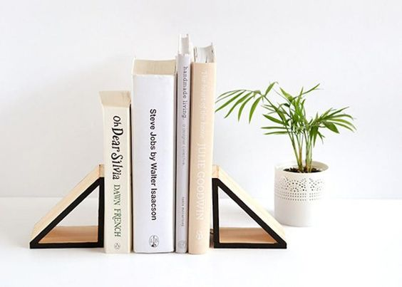 Diy Bookend Ideas 31 - 35+ Cool DIY Bookend Ideas
